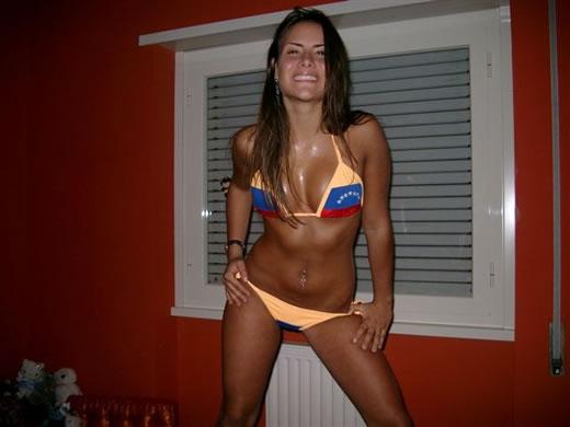 venezolana en bikini-2