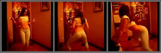 Jovencita guarra bailando reggaeton