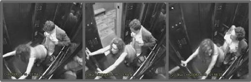 Sexo amateur en el elevador