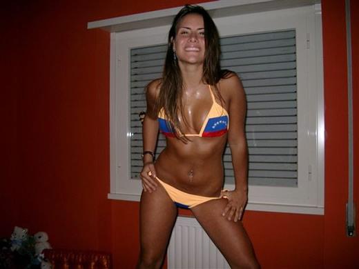 venezonlana en bikini