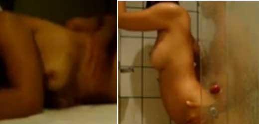 la siguió a la ducha